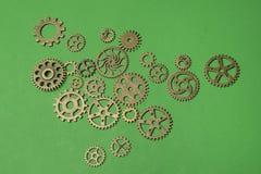 gears metalliskt Royaltyfri Fotografi