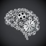 Gears mind Royalty Free Stock Images