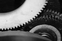 Gears in motion Royalty Free Stock Photography