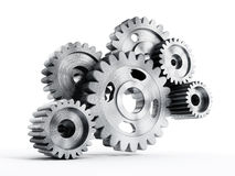 Gears in motion Royalty Free Stock Images