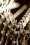 Gears of a mountain bicycle Stock Photography
