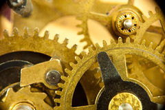 Gears from old mechanism Royalty Free Stock Images