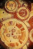Gears from old mechanism Royalty Free Stock Photos
