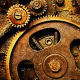 Gears from old mechanism Royalty Free Stock Photo