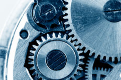 Gears from old mechanism Stock Photo