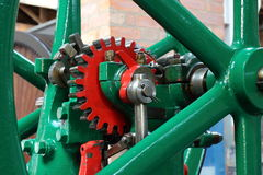 Gears from an Old Mechanism Stock Photography