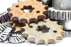 Gears old Royalty Free Stock Image