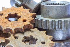 Gears old Stock Images