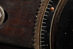 Gears from outdated mechanism Royalty Free Stock Photography
