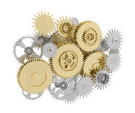 Gears with pinions Stock Photos
