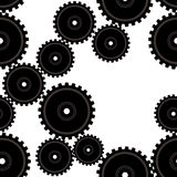 Gears repeat Royalty Free Stock Images
