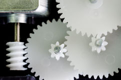 Gears rotating Stock Photo