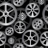 Gears seamless 06 Royalty Free Stock Photography