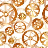 Gears seamless Royalty Free Stock Image