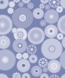 Gears seamless background Stock Image