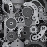 Gears seamless pattern  Stock Photo