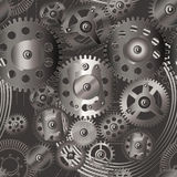 Gears seamless pattern 2 Stock Photography