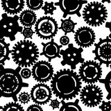 Gears seamless pattern Stock Photography