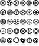 Gears set Stock Photography