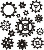 Gears Set Royalty Free Stock Images