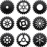 Gears set Royalty Free Stock Photography