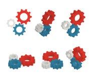 Gears set Stock Image
