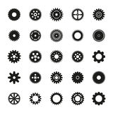 Gears set vector eps10. Gears set vector illustration Royalty Free Stock Images