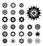 Gears  set Royalty Free Stock Photo