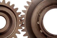 gears stål två arkivfoton