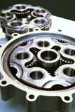 gears stor metall Arkivfoton