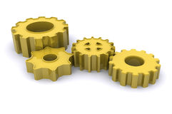 Gears of Success Stock Photography