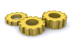 Gears of Success Royalty Free Stock Photography