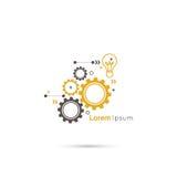 gears symbol Royaltyfri Bild