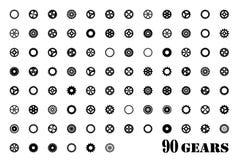 Gears symbolen Royaltyfri Bild