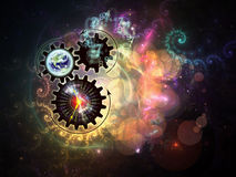 Gears of Technology Stock Images