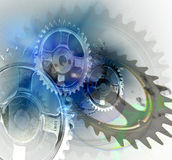 Gears turning Royalty Free Stock Image