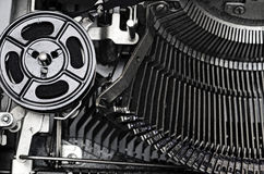 Gears Typewriter Stock Images