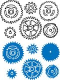 Gears vector element illustration Royalty Free Stock Photography