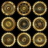 The gears Royalty Free Stock Photos