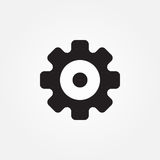 Gears vector icon illustration graphic design. Royalty Free Stock Images