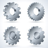 Gears Vector Set Stock Photography