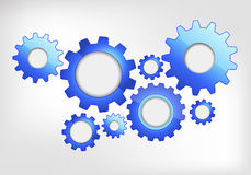 Gears web design Royalty Free Stock Photo