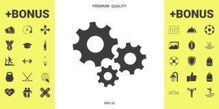 Free Gears Wheel - Settings Icon Royalty Free Stock Photos - 123760778