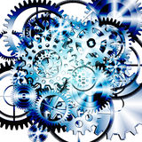 Gears wheels design Royalty Free Stock Photo