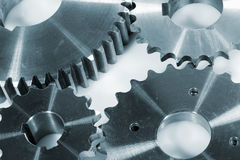 Gears, wheels and engineering Royalty Free Stock Image