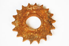 Gears on a white Stock Images