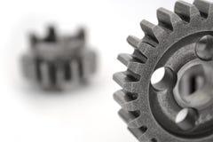 Gears on white Stock Photos