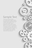 Gears With Icons Inside Stock Photos
