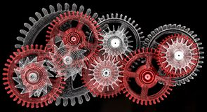 Gears. Work concept. Stock Photography