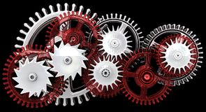 Gears. Work concept. Stock Image